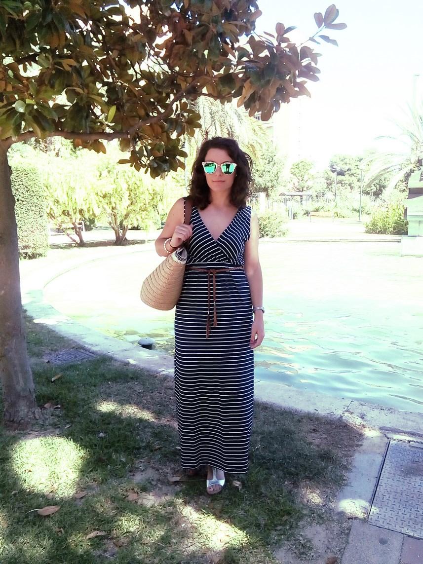 Maxi vestido de rayas_look_mivestidoazul (1)