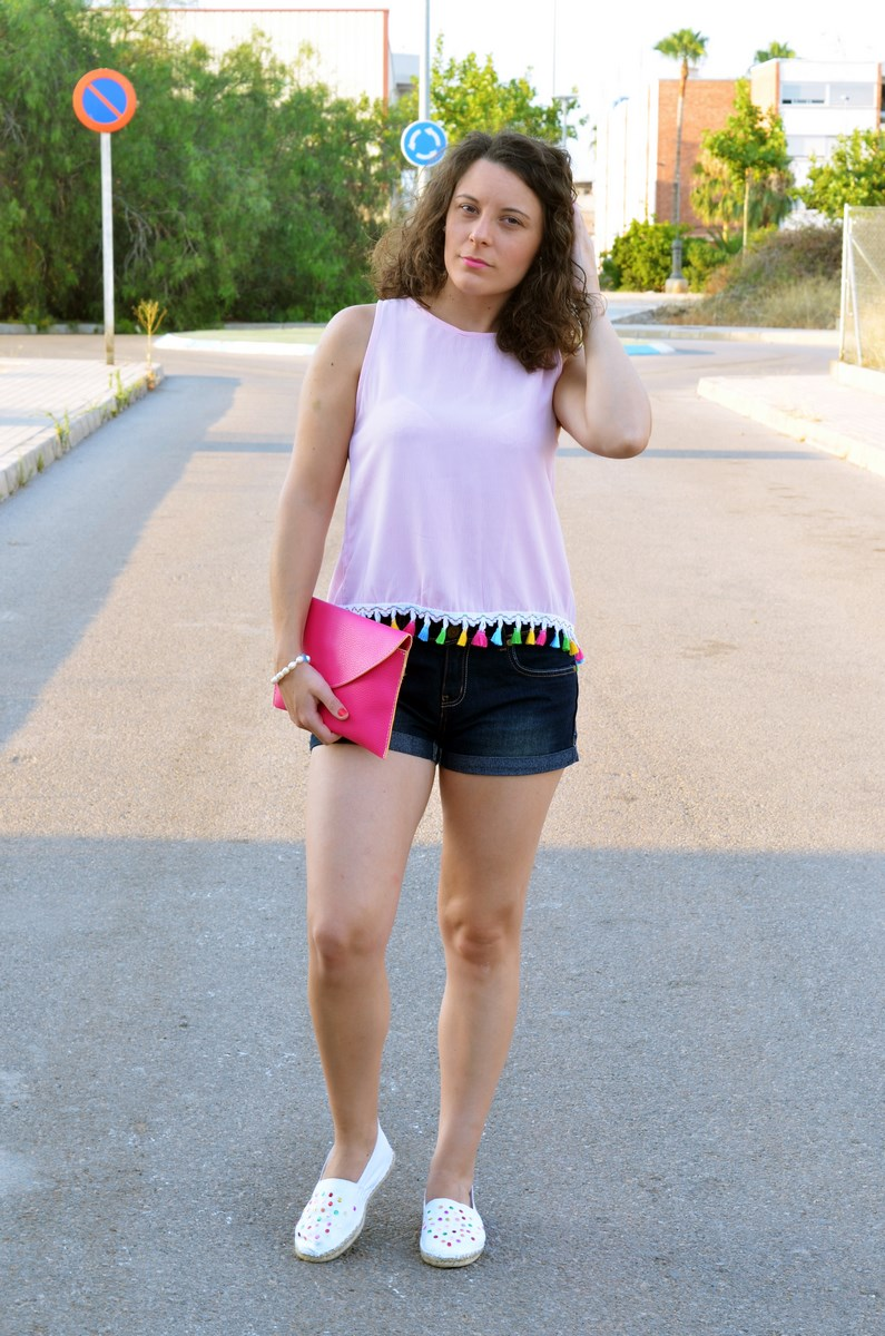 Pompones_Lentejuelas_colores_look_streetstyle_fashionblogger_mivestidoazul (2)