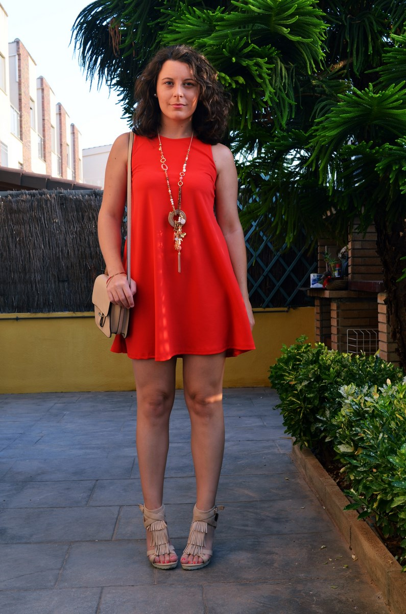 Vestido rojo anaranjado_look_streetstyle_mivestidoazul (6)