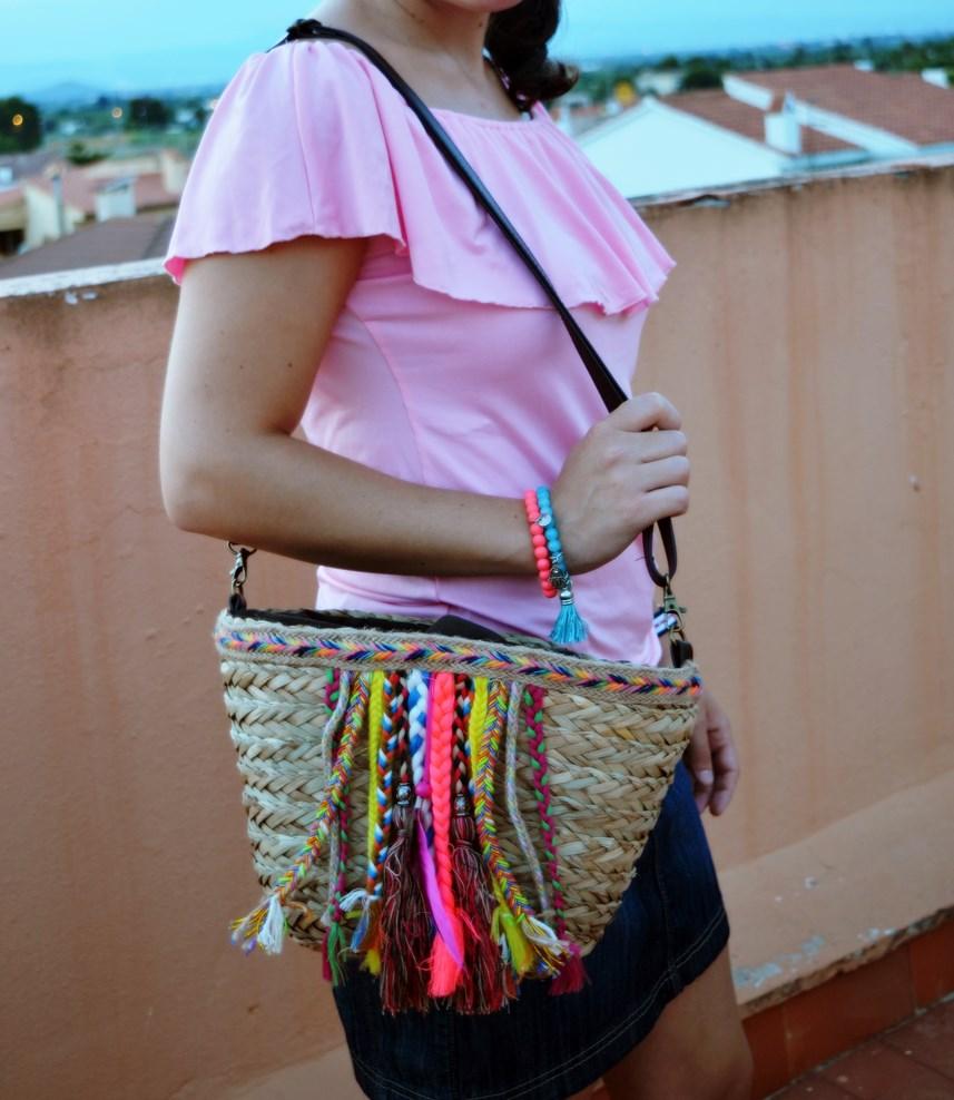 Camiseta rosa y mini capazo_look_verano_fashionblogger_mivestidoazul (7)
