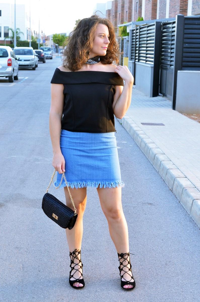 Falda desflecada_look_streetstyle_summer_tendencia_mivestidoazul (5)