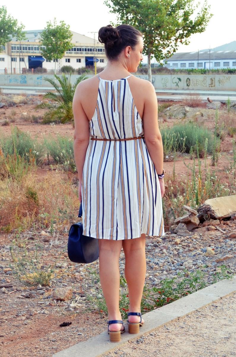 Look_vestido de rayas azul y camel_streetstyle_mivestidoazul (8)