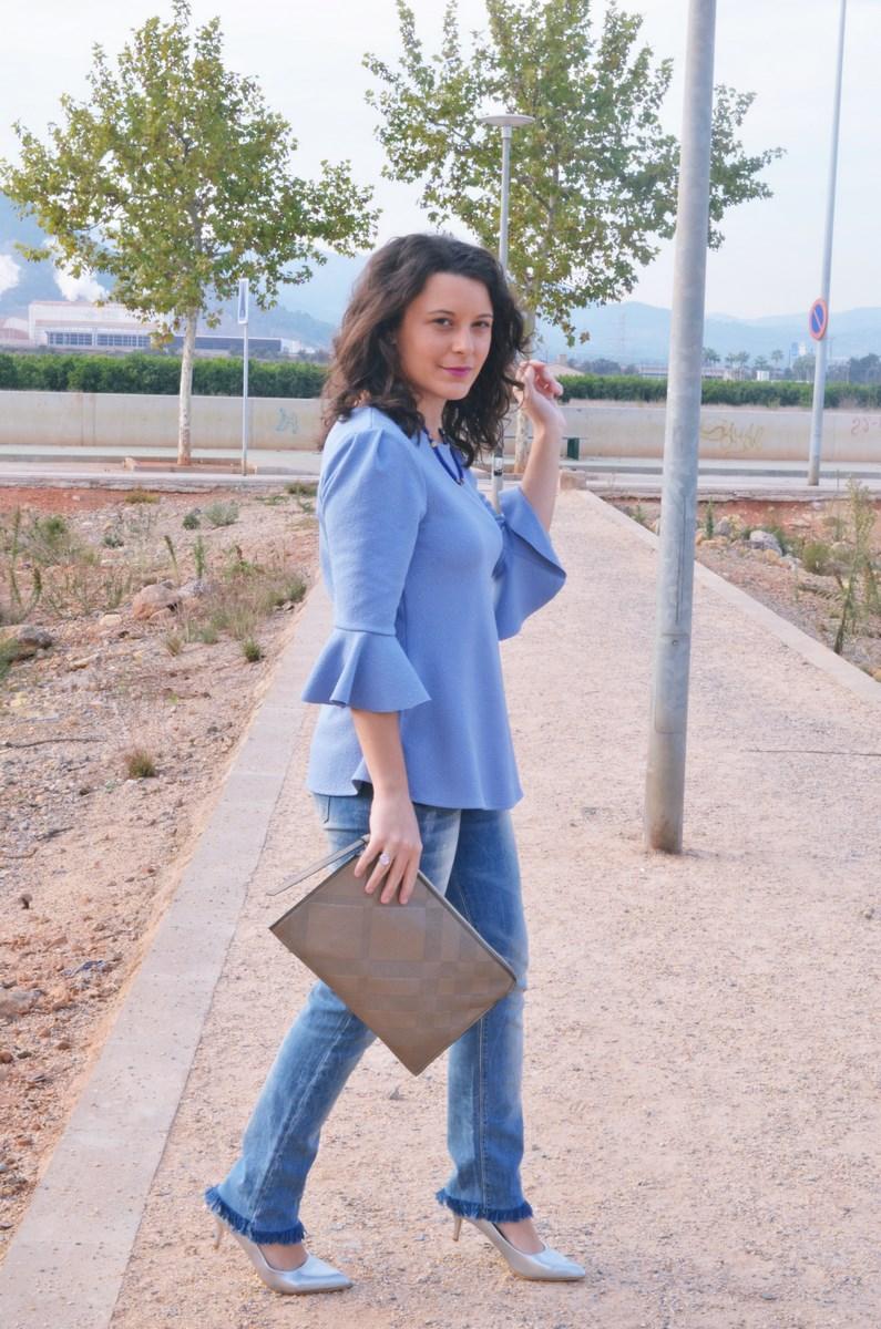 look_blusamangasacampanadasymetalizados_streetstyle_fashionbloggermivestidoazul-16