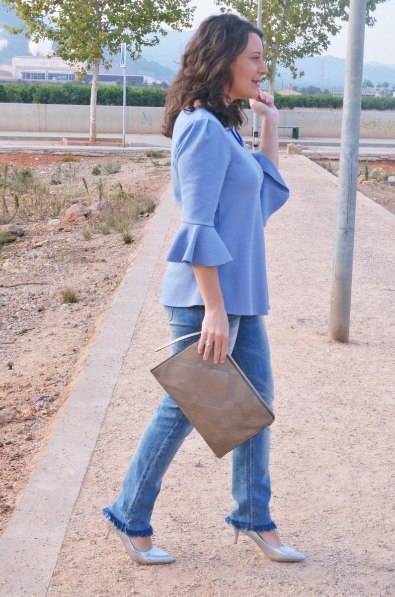 look_blusamangasacampanadasymetalizados_streetstyle_fashionbloggermivestidoazul-17