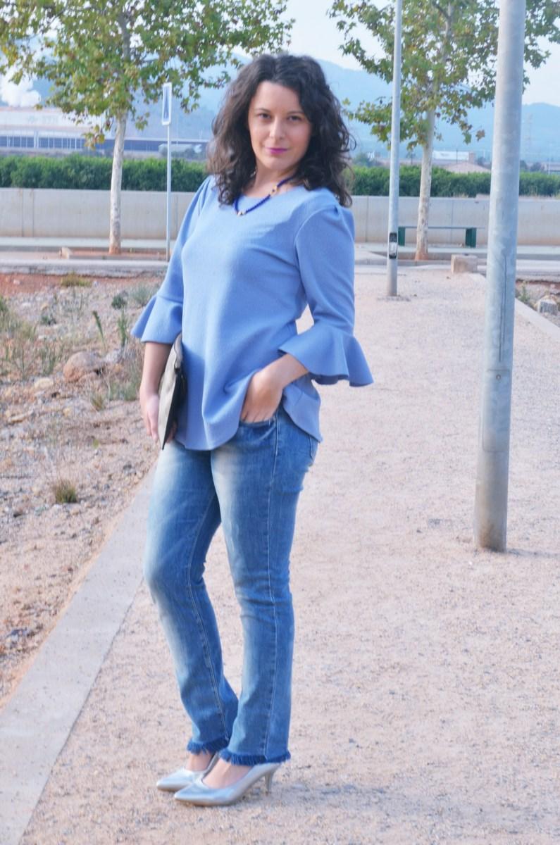look_blusamangasacampanadasymetalizados_streetstyle_fashionbloggermivestidoazul-3