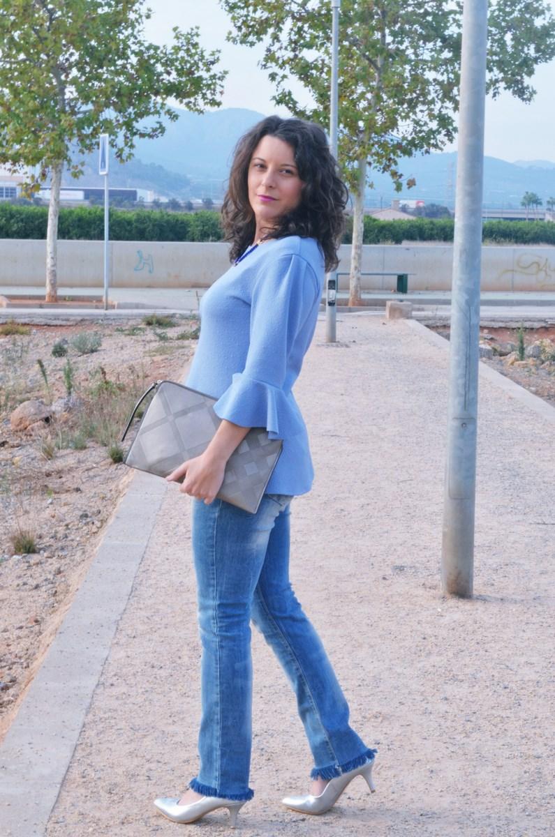 look_blusamangasacampanadasymetalizados_streetstyle_fashionbloggermivestidoazul-7