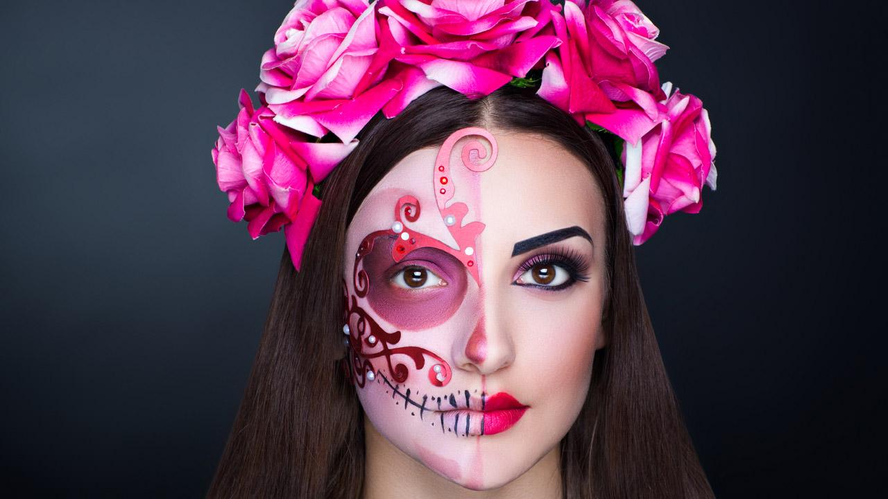 Maquillaje Aterrador O No Para Halloween Mi Vestido Azul