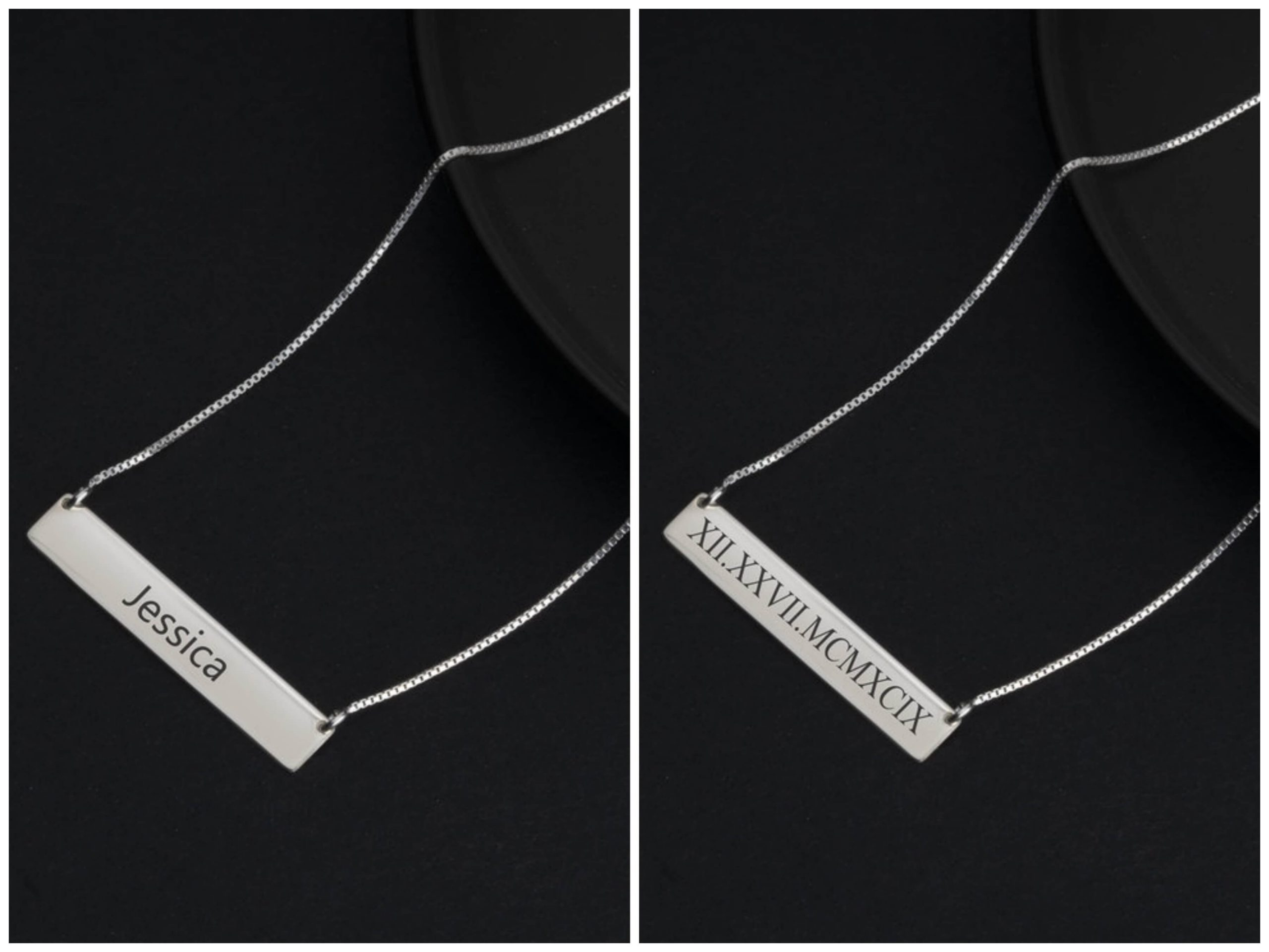 colgantes personalizados One necklace