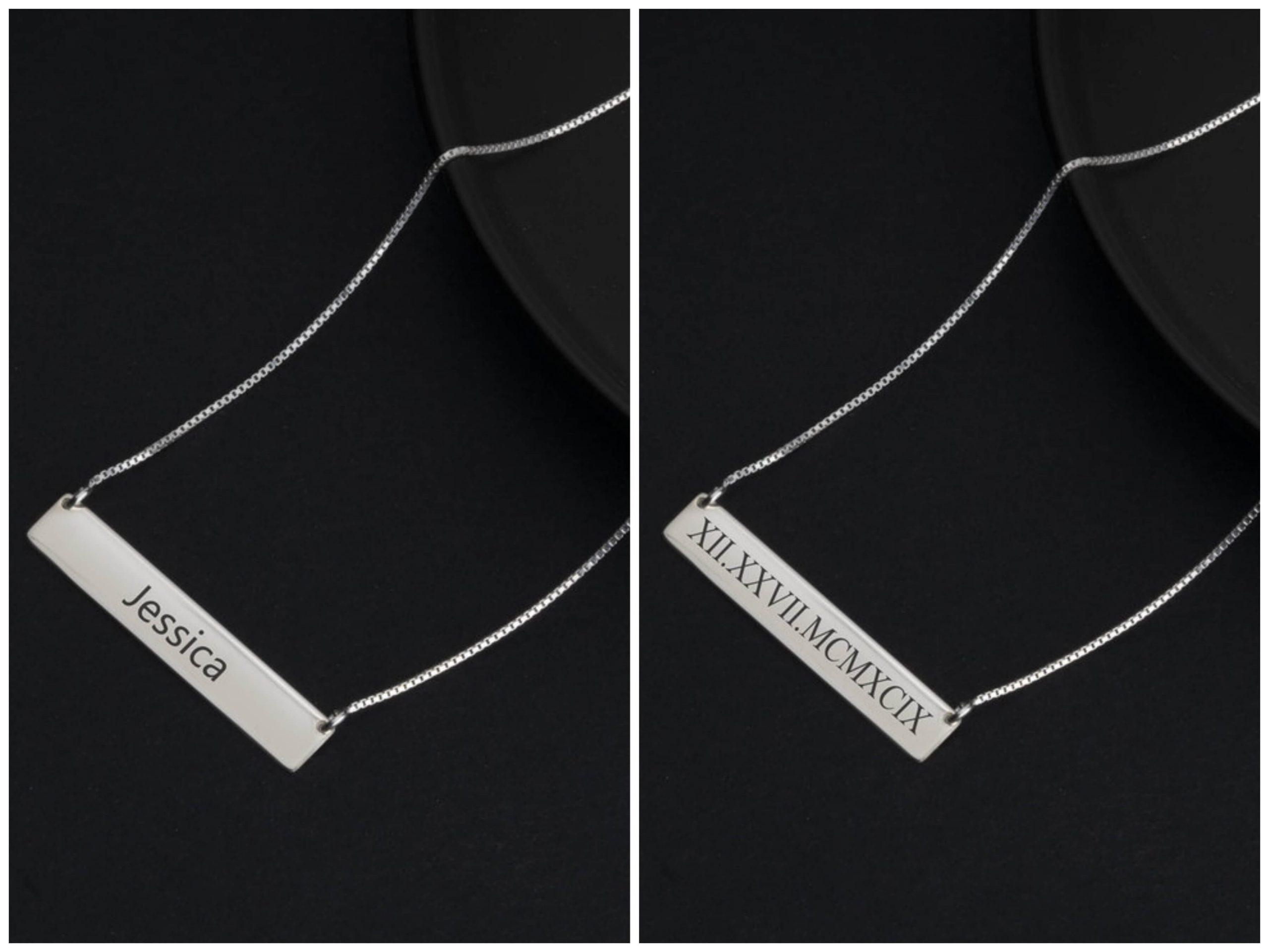 colgantes personalizados One necklace